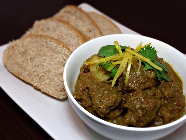 Goan Green Beef Curry