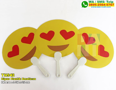 Kipas Plastik Emoticon