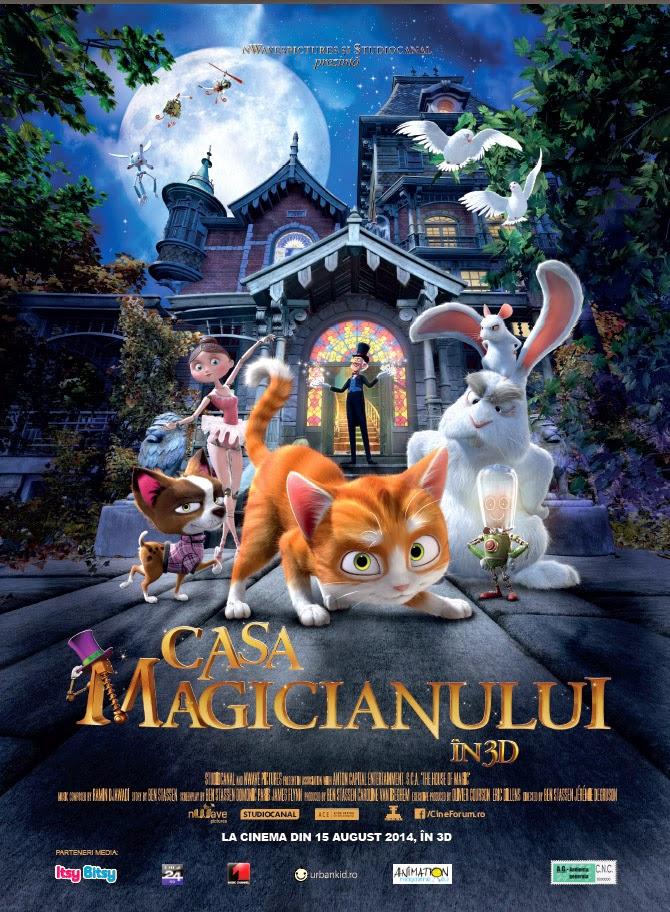 casa magicianului 2013 dublat în română desene animate dublate