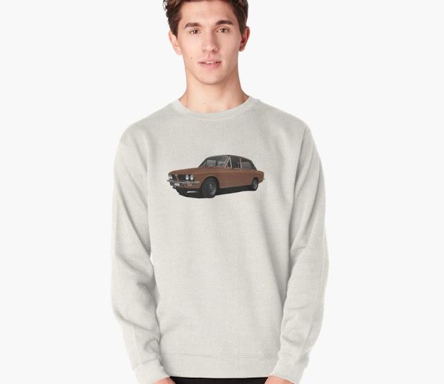 Triumph Dolomite Sprint classic car t-shirt