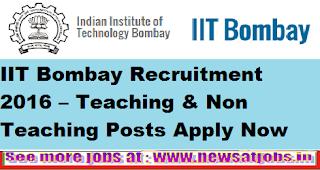 iit-bombay-recruitment-2016