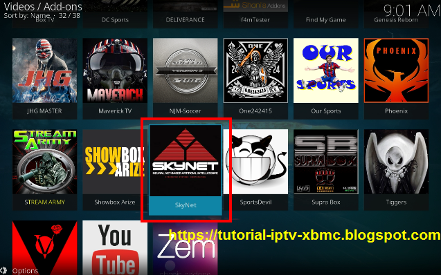 Skynet TV Kodi Addon - All In One Addon Kodi - New Kodi Addons