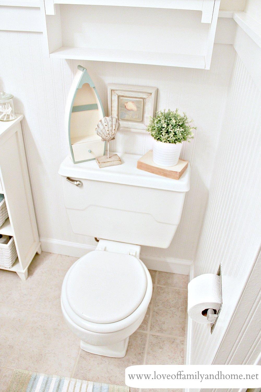 Hallway Bathroom Makeover Reveal
