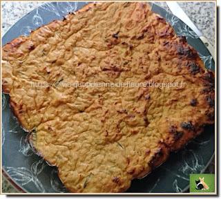 Vie quotidienne de FLaure : Gâteau aux poireaux émincés et thon au naturel