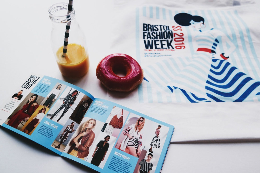BFW SS16 Guide book with goodie bag