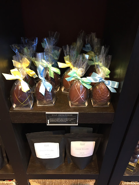 Easter chocolate at Eclat Chocolate in West Chester Pennsylvania