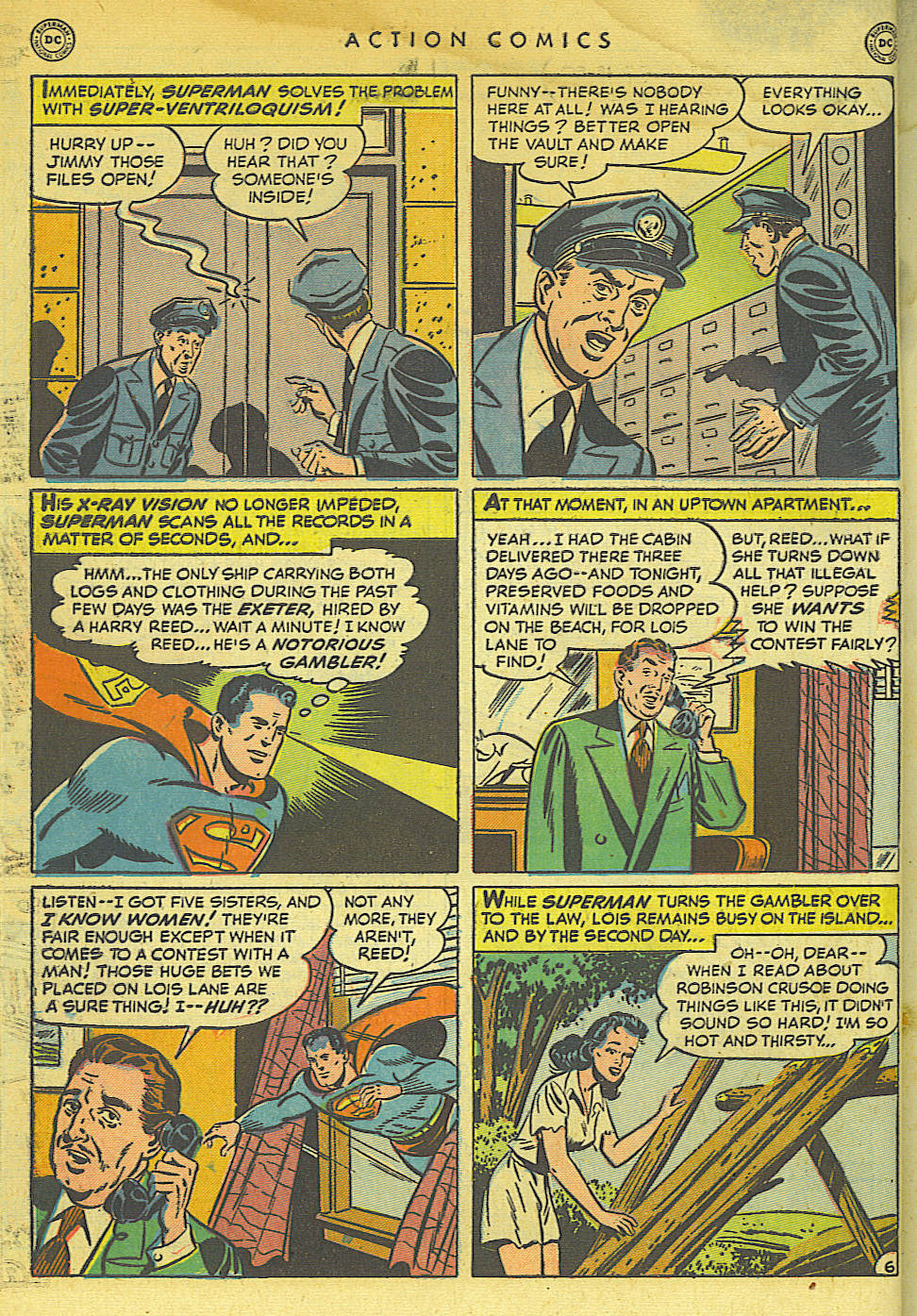 Action Comics (1938) 154 Page 7