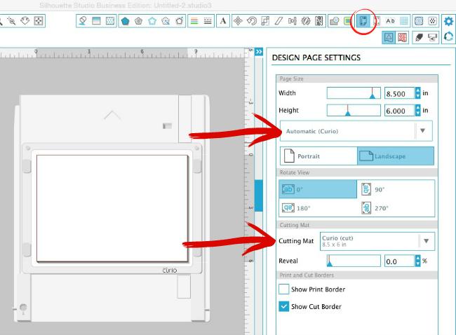Silhouette Curio, Silhouette tutorial, stipple, design page tool