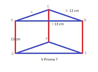 Contoh Soal Prisma Segitiga nomer 3