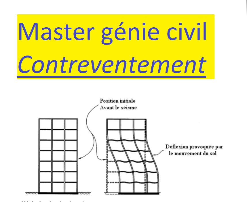 exemple de mémoire en génie civil à télécharger cours génie civil