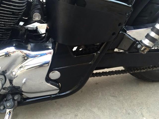 Bản độ Honda Shadow 400 đời 2000 nguyên gốc Nhật