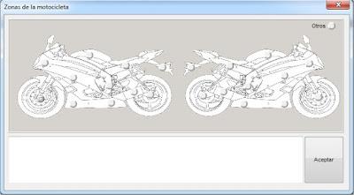 Inspección visual software para talleres de motocicletas