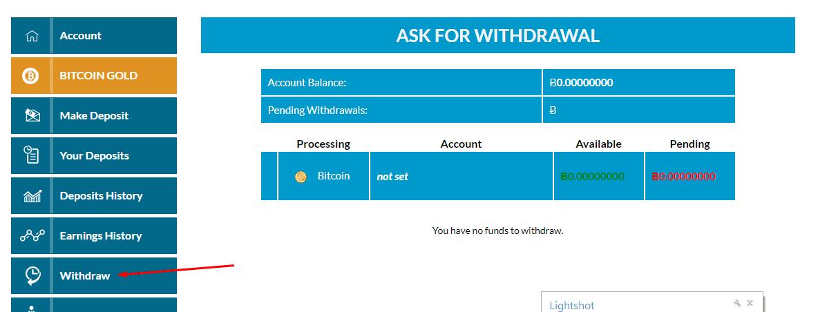 Регистрация в Bitwis 4