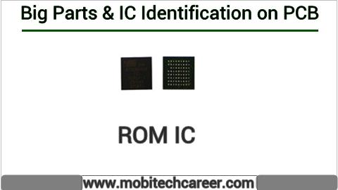 Rom ic identification on mobile cell phone smartphone pcb circuit board motherboad | Rom ic ki mobile phone pcb par pahchan kaise kare | Rom ic की मोबाइल रिपेयरिंग में पीसीबी पर पहचान करना सीखें कार्य व खराबियाँ | मोबाइल रिपेयर करना हिन्दी में सीखें | PCB पर All IC पहचान