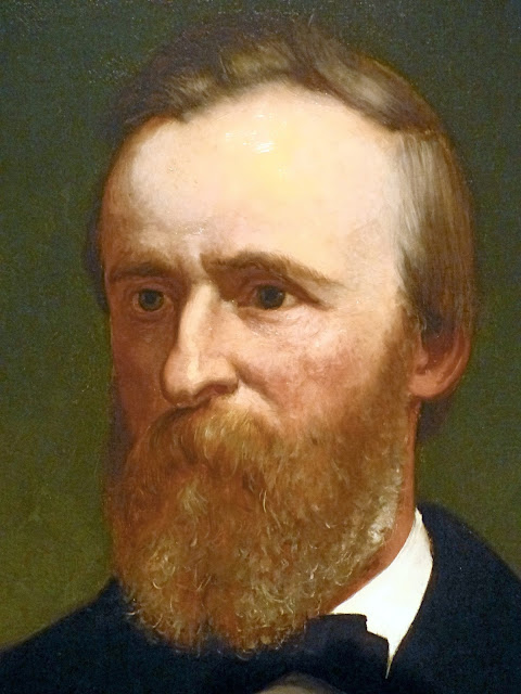 the portrait gallery  rutherford b  hayes