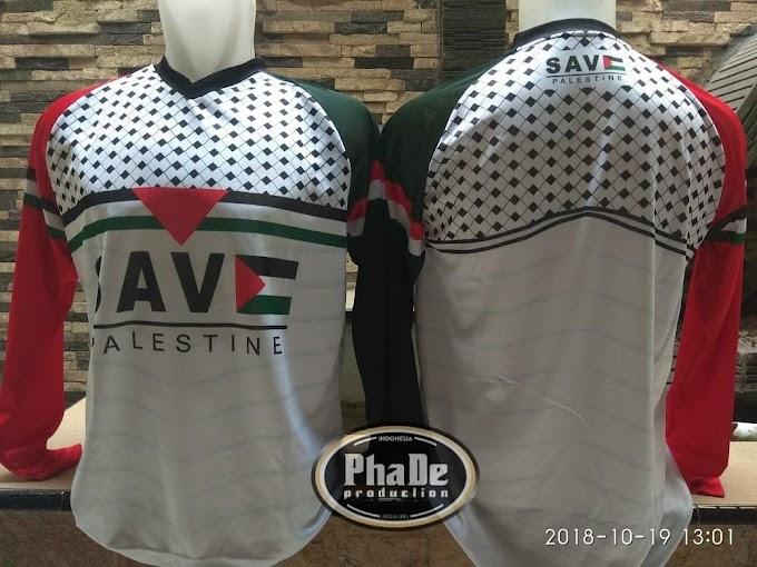 Jersey Memanah Kantor Pusat DJBC Edisi Palestina