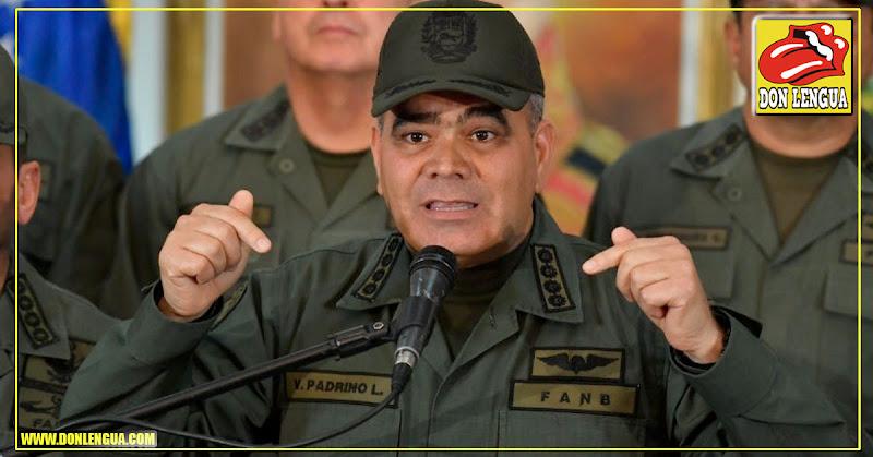 Padrino López en cadena para convencer a los militares de que no se vayan de su lado