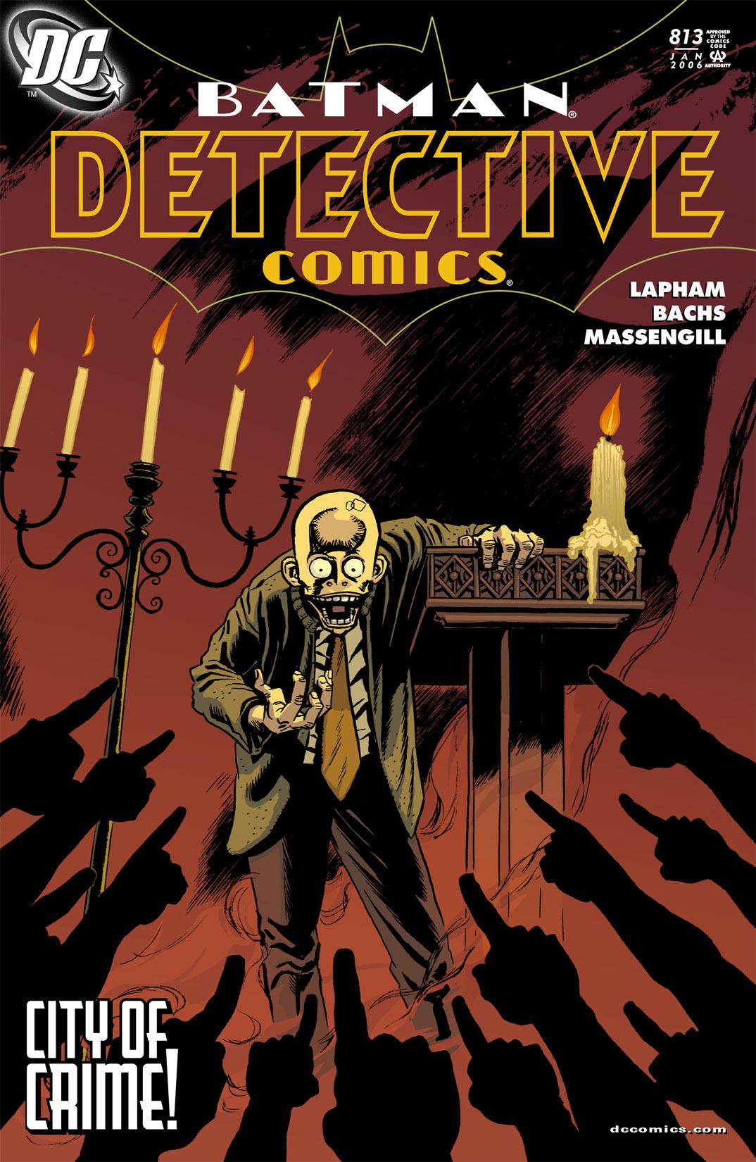 Detective Comics (1937) 813 Page 1