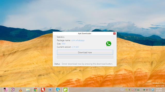 أداة APK Downloader لتحميل تطبيقات الأندرويد من بلاي ستور مباشرة إلى حاسوبك