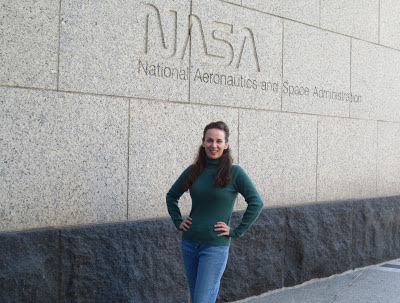 Heather at NASA HQ