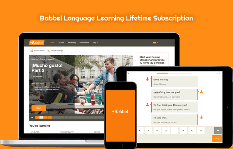 Babbel Language Learning Discount Coupon