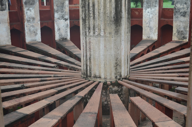 Spokes of Ram Yantra, Jantar Mantar, Delhi