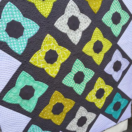 Chic Stars Quilt Free Pattern