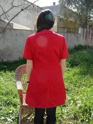 modistilla de pacotilla twiggy dress revista burda style vintage cose conmigo sonia la pequeña aprendiz