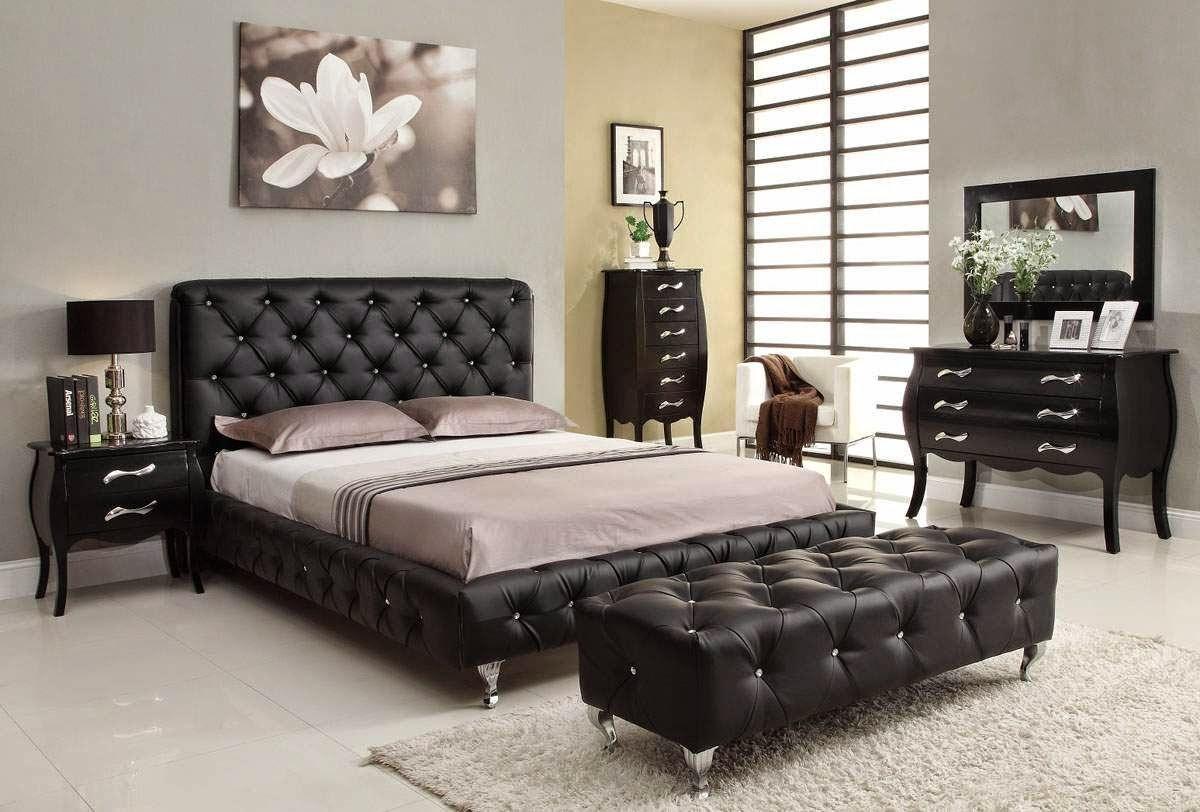 chambre a coucher noire