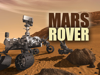 Mars Rover Finds Stone Tablets - Pics about space