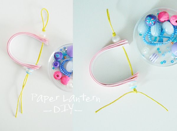 boheme circus - paper lantern - DIY - do it yourself - lanterne en papier