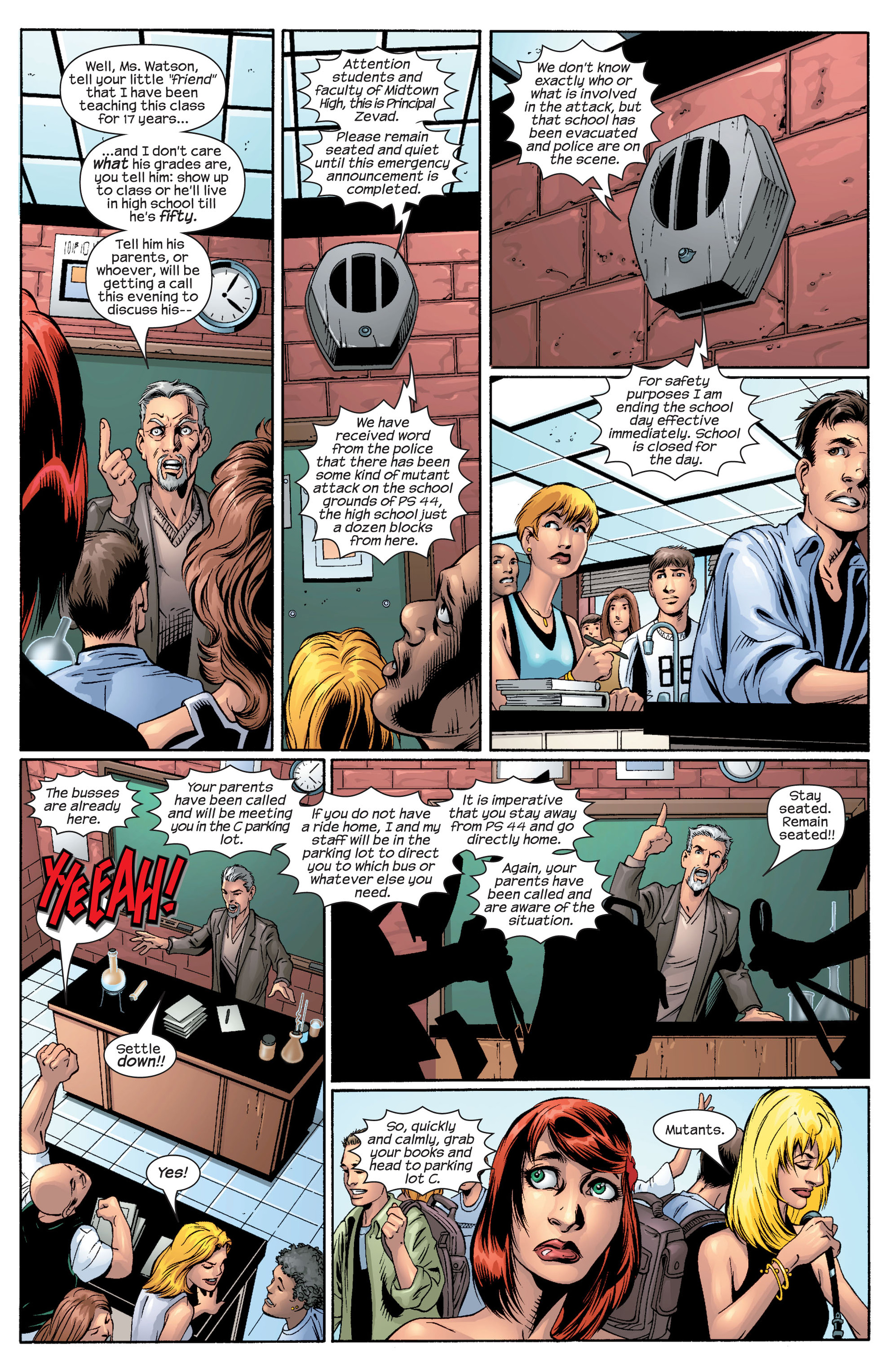 Read online Ultimate Spider-Man (2000) comic -  Issue #43 - 4
