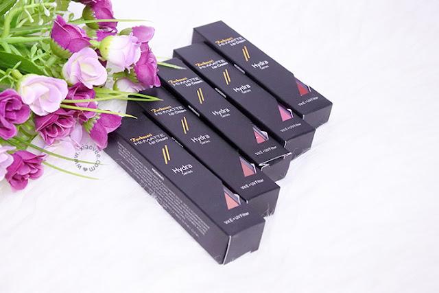 Purbasari Hydra Series Hi-Matte Lip Cream review, Purbasari Review, Purbasari Lipstick review, Kosmetik Purbasari bagus, kosmetik purbasari rekomen