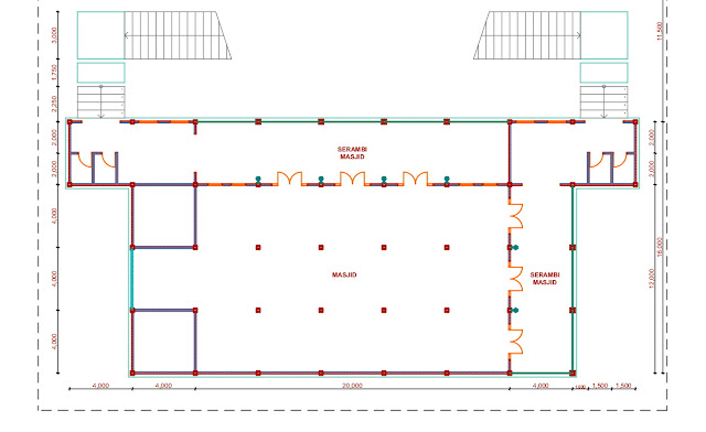 Jasa Desain Bangunan Pondok Pesantren  Tasikmalaya 2020