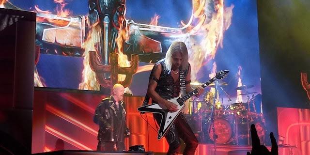"""Judas Priest toca por primera vez en vivo canción de su nuevo disco """"Firepower"""""""