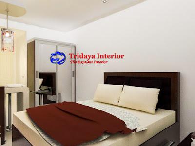 interior-kamar-studio-apartemen-mt-haryono