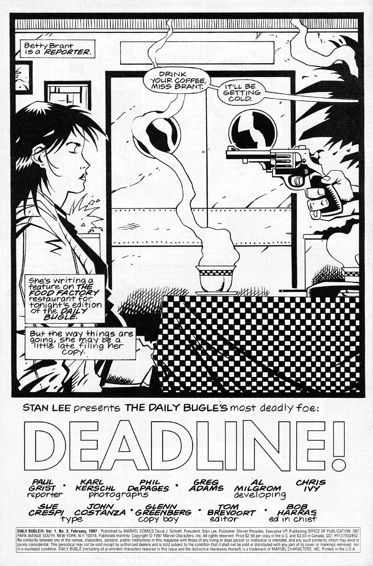 Read online Daily Bugle (1996) comic -  Issue #3 - 6