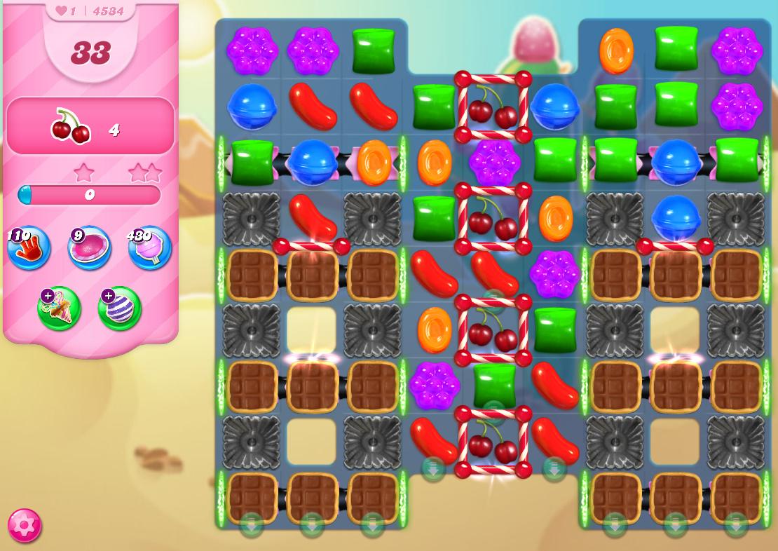 Candy Crush Saga level 4534