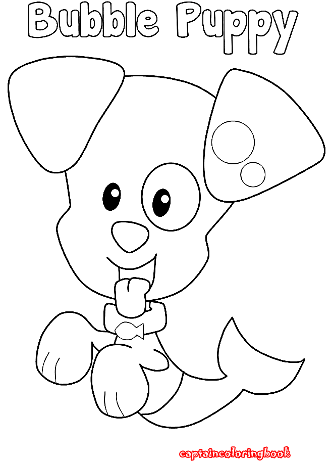 Bubble Guppies Coloring Pages Download - Coloring Page