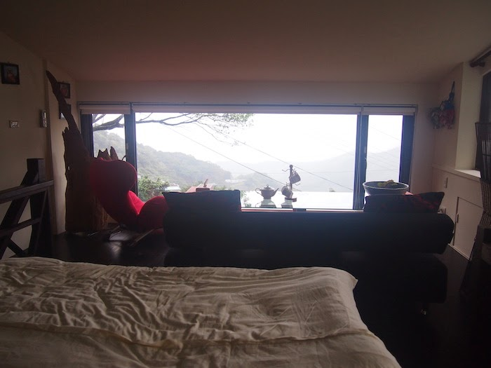 Windsor b b jiufen taiwan experience omnivoreadventure for Rainwater falls massage