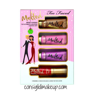 Preview Novità Natale 2016  Too Faced melted lipstick liquid lipstick