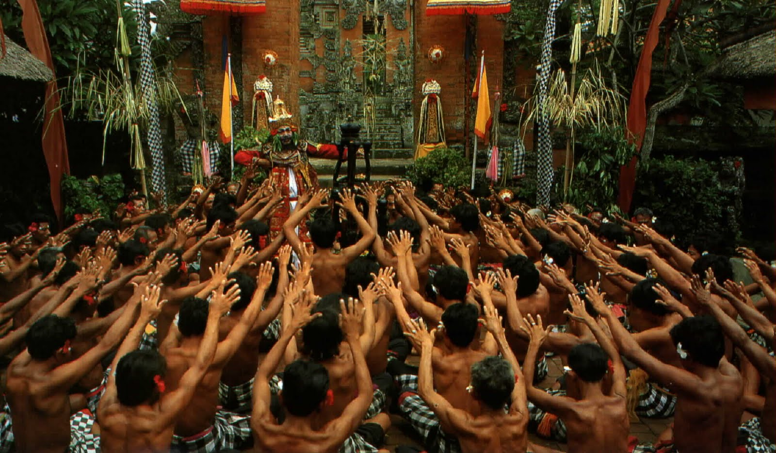 Culture Of Bali Indonesia Tari Kecak