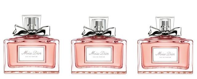 flakony Miss Dior Eau de Parfum 2017 w pojemności 50, 100 i 150 mL