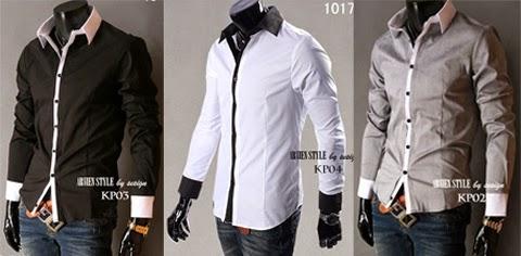 model baju kantor pria