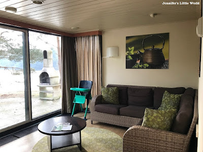 Center Parcs De Vossemeren VIP Cottage living area