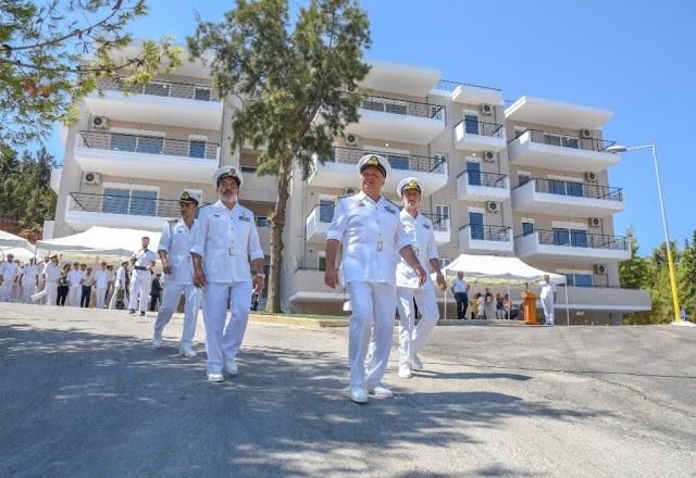 Διήμερη επίσκεψη Α/ΓΕΝ στο Ναύσταθμο Κρήτης-Τι εγκαινίασε (15 ΦΩΤΟ)