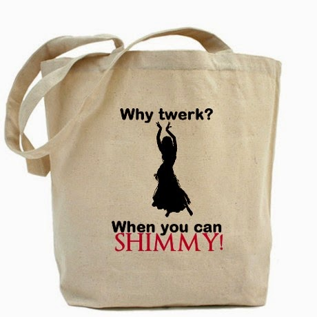 why twerk tote bag