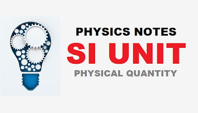 Lists of SI Units of Some Physical Quantities