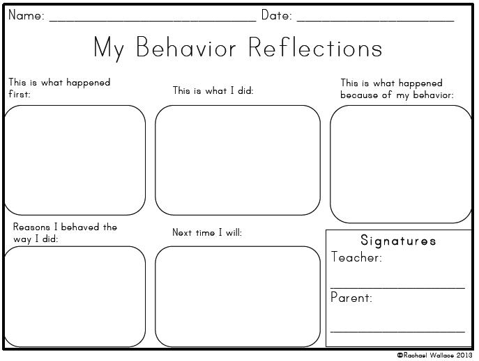 Behavior Chart: Tips & Tricks - Mindful Rambles