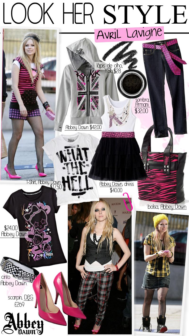 Hot Hollywood: Avril Lavigne Fashion